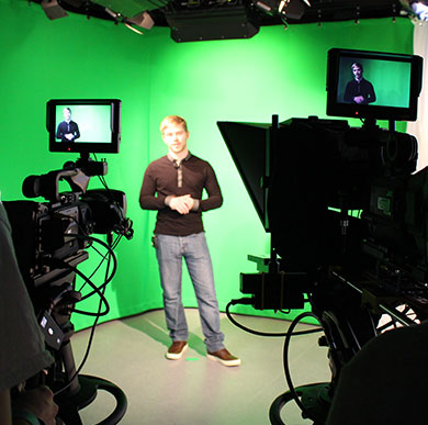 School of Media and Film image of cinematography