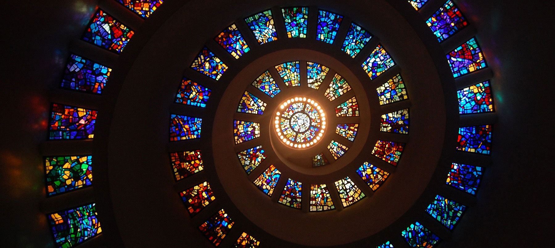 Theology, Religion and Philosophy image of stained glass windows