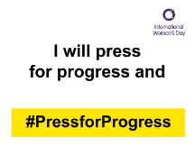 I will press for progress