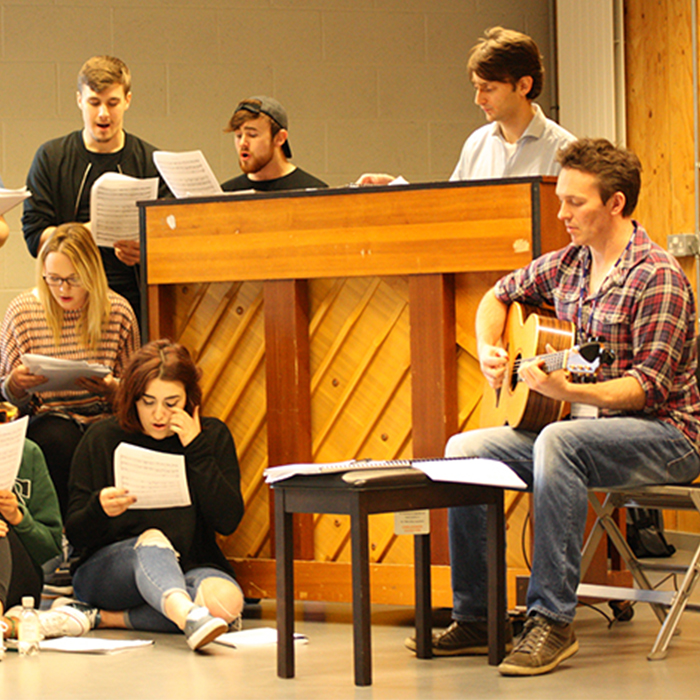 University of Winchester supports upcoming writers of British musical theatre