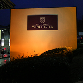 November 2017 at the University of Winchester