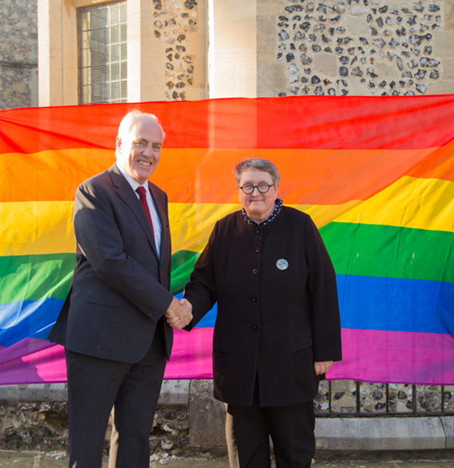 University of Winchester and Hampshire County Council celebrate Hampshire Pride
