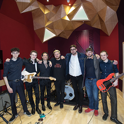 Alt-J launch state-of-the-art sound recording studios at University of Winchester