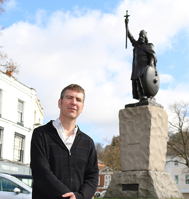 Winchester historian helps to bring the past to life on popular TV drama