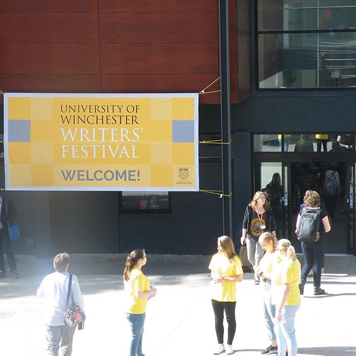 Flapjacks and Cheshire Cats: Winchester Writers' Festival
