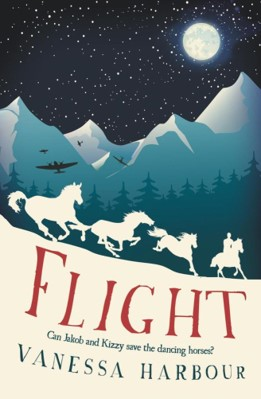 Book cover for 'Flight' by Vanessa Harbour
