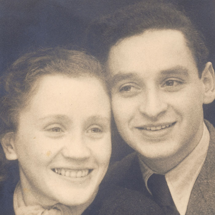 Jewish Winchester research image of German Jewish refugees Jack and Gretel Habel in 1939