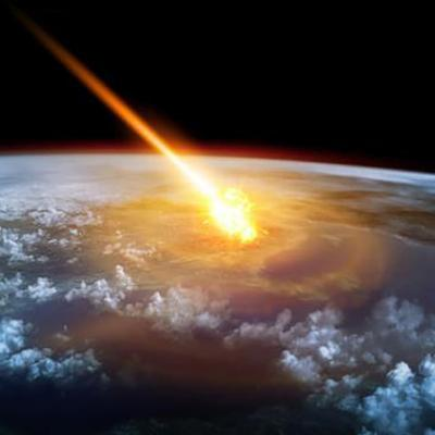 The impact of University of Winchester research: a fiery meteorite over planet Earth