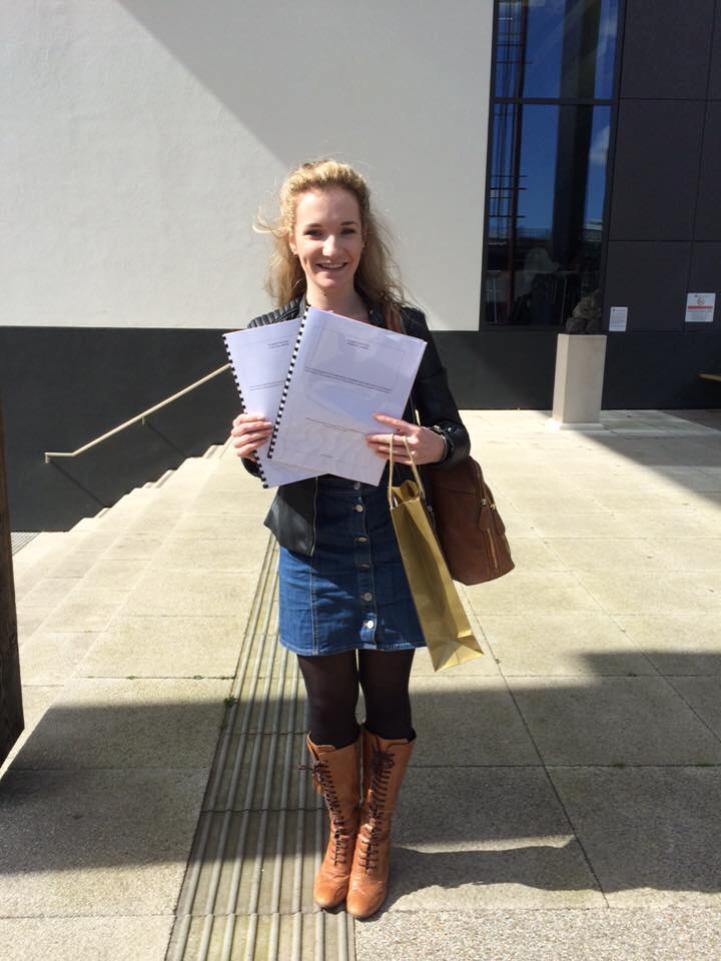 Evie payne with dissertation