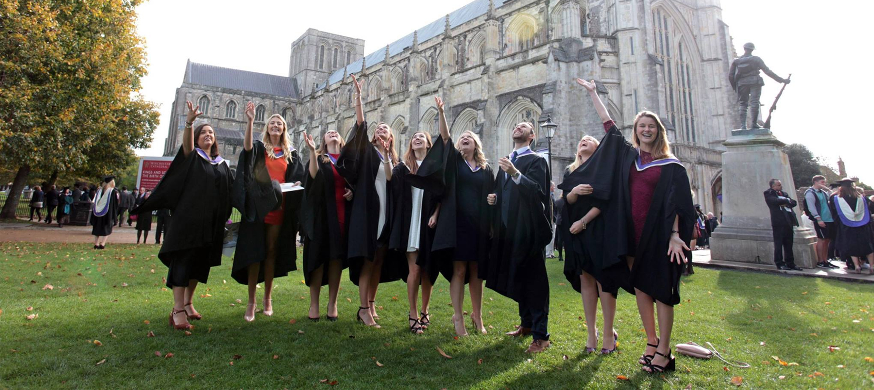 Graduation at the Winchester Cathedral