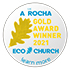 Eco Church Gold Award 2020 logo